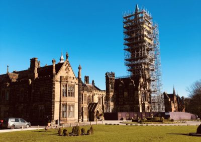 Scarisbrick Hall School Ormskirk repairs to Grade 1 Listed Building